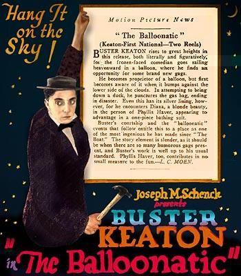 DVD CINE 2450-IV - Pamplinas aeronauta (1923) EEUU. Dirs: Buster Keaton, Edward F. Cline. Comedia. Aventuras. Sinopse: Buster Keaton parodia o cinema de aventuras: voará nun dirigible, enfrontarase a osos e fritirá peixes utilizando as raquetas de tenis como tixola