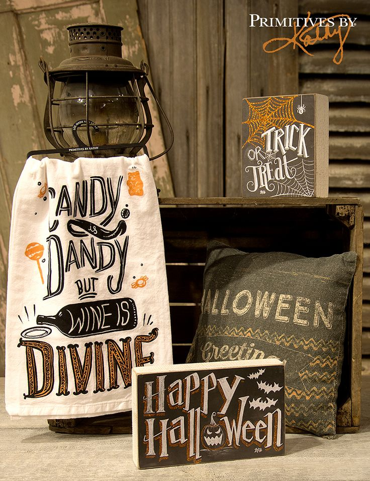halloween decor by primitives by kathy - Primitives By Kathy Halloween