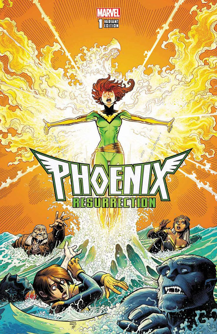 PHOENIX RESURRECTION: THE RETURN OF JEAN GREY #1 by Art Adams