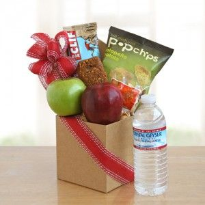 13 best health food gift basket images on pinterest food gifts healthy snack care package employee giftshomemade negle Choice Image