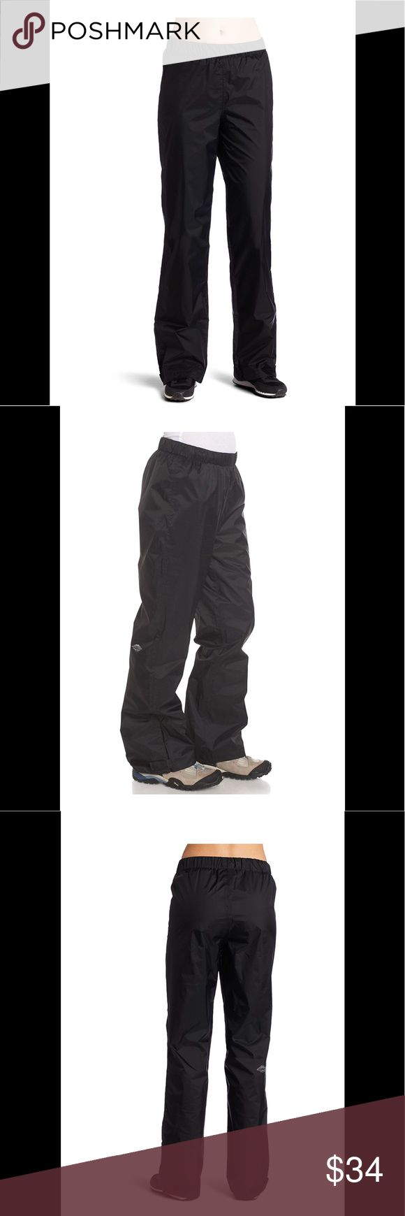 """NEW Columbia Storm Surge Pants New with tags. Columbia Sportswear """"Storm Surge Pant"""". Fully waterproof elastic waist pants. Women's size large in black. Retail $50.00. Columbia Pants"""