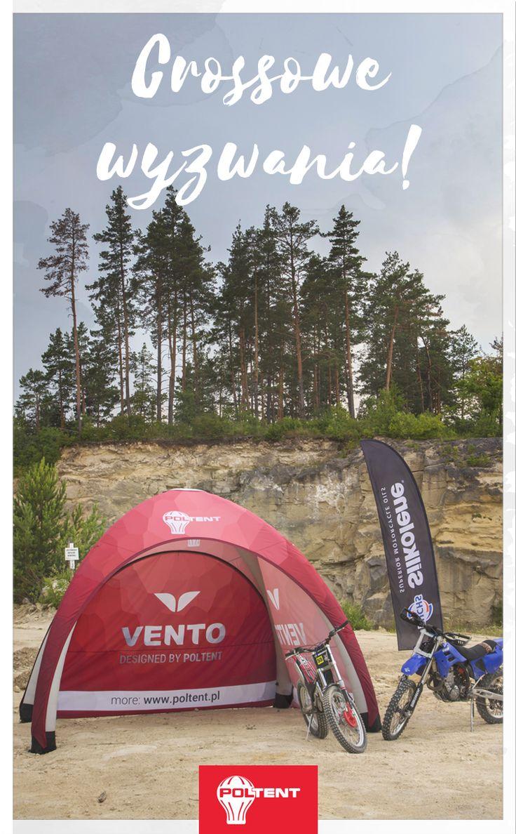 Namiot Vento bez wentylatora. www.poltent.pl