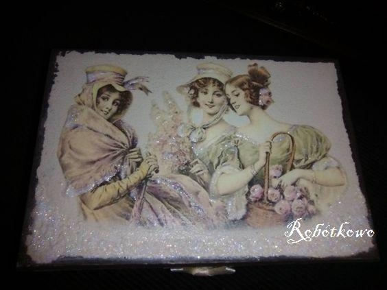 jewel casket  Handmade