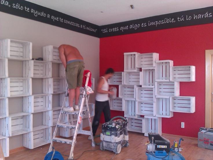 9 best images about interiores de tiendas on pinterest for Decoracion deportiva