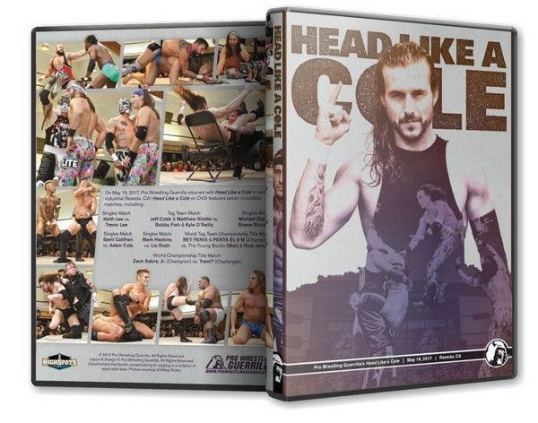 Pro Wrestling Guerrilla - Head Like a Cole Blu-Ray