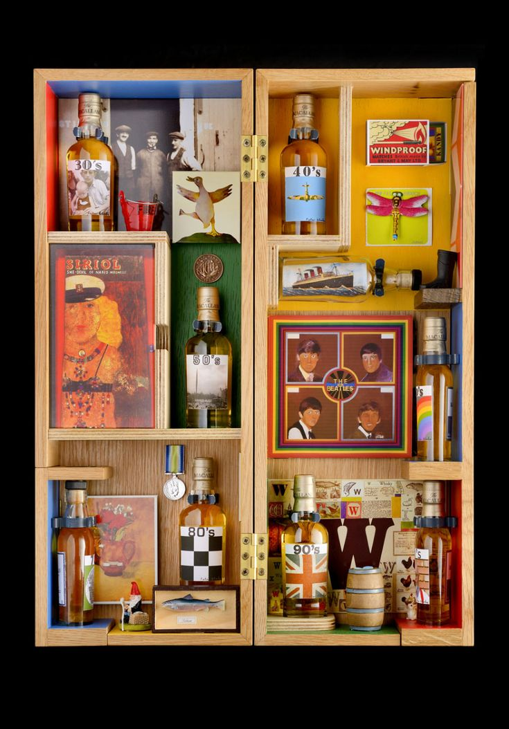 Great packaging collaboration between Peter Blake and Macallan distillery.