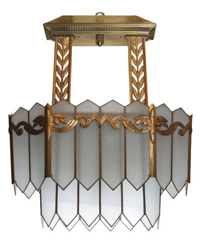 American Art Deco Chandelier from the Chicago Civic Opera - 34 Best Art Deco Chandeliers Images On Pinterest Art Deco