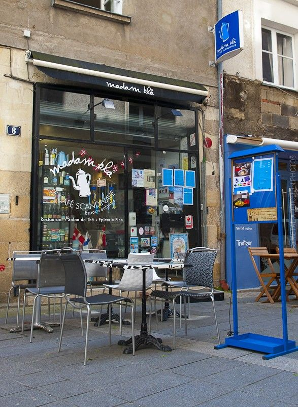 """[Restaurant] """"Madam Blä"""" - Accueil fantastique et délicieusement bon, en centre ville ! [NANTES, Loire-Atlantique, Pays de la Loire, FRANCE]"""