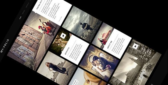 MY FOLIO – Responsive Photography Retina-Rdy HTML5 - Photography Creative