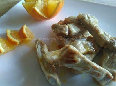Bastoncini di arista all'arancio