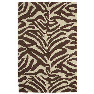 Large Brown Zebra Print Area Rug #Pier 1 Imports
