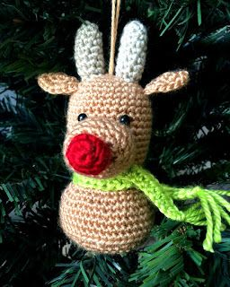 33Threads: Christmas Ornaments!!! Reindeer