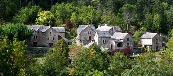 """""""Le Croze"""", Gorges du Tarn"""