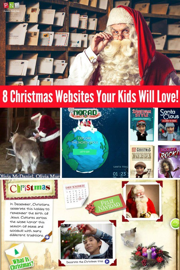 Christmas Websites Your Kids Will Love Exploring