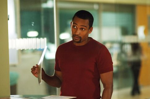 Gary Sinise and Hill Harper in CSI: NY (2004)