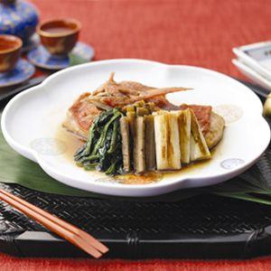 金目鯛煮付け - 魚介 - レストラン -商品レシピ- | マリンフード株式会社