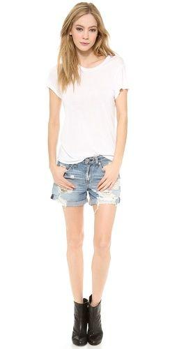 Rag & Bone/JEAN The Boyfriend Shorts   SHOPBOP SAVE 25% use Code:INTHEFAMILY14