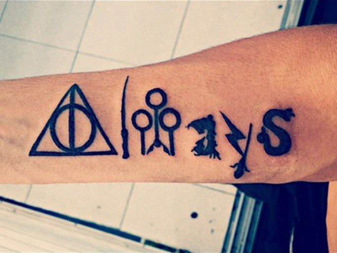 It's absolutely no questions that Harry Potter fans take the series seriously. So seriously, in fact, that Harry Potter tattoos of all sorts are incredibly popular. A quick Instagram hashtag search reveals that there are over 15,000 photos tagged #harrypottertattoo, and Pinterest shows off even