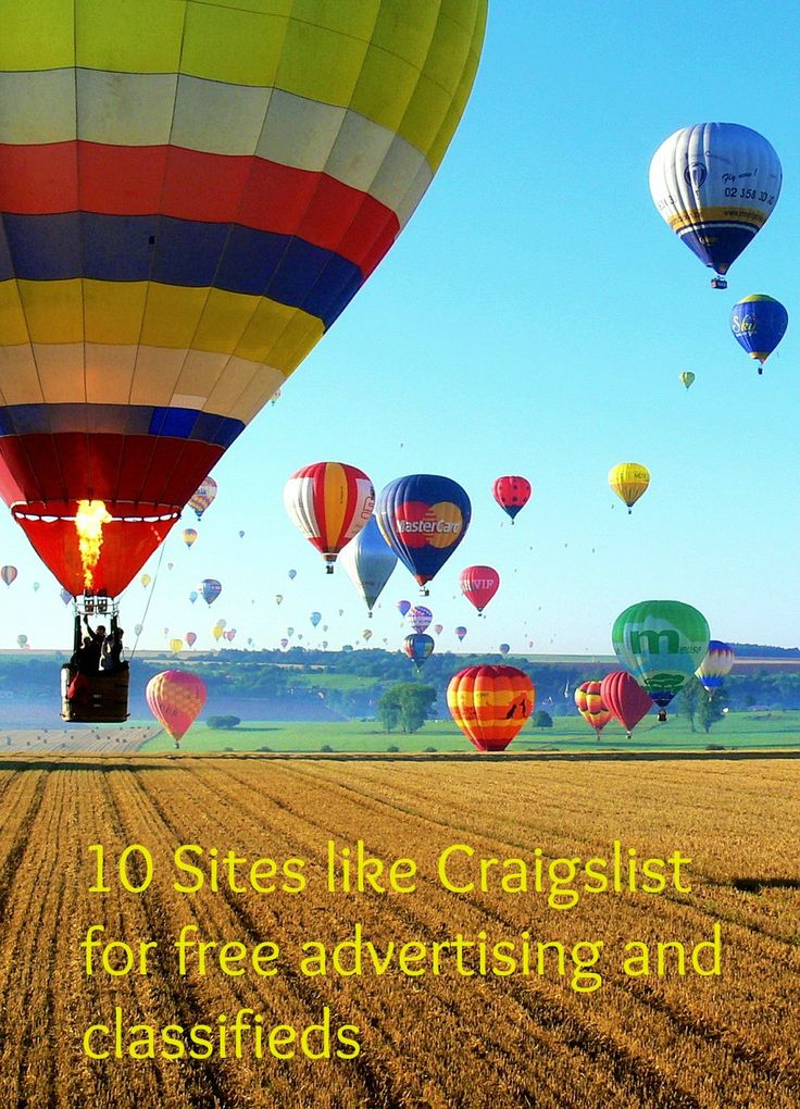 10 Sites Like Craigslist for Free Advertising