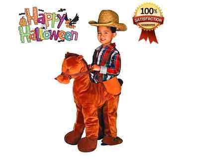 Brown Horse Rider Toddler Boy Halloween Costume - Halloween Costume 2T-3T 3T -4T  sc 1 st  Pinterest & 29 best Halloween Costumes images on Pinterest | Halloween costumes ...