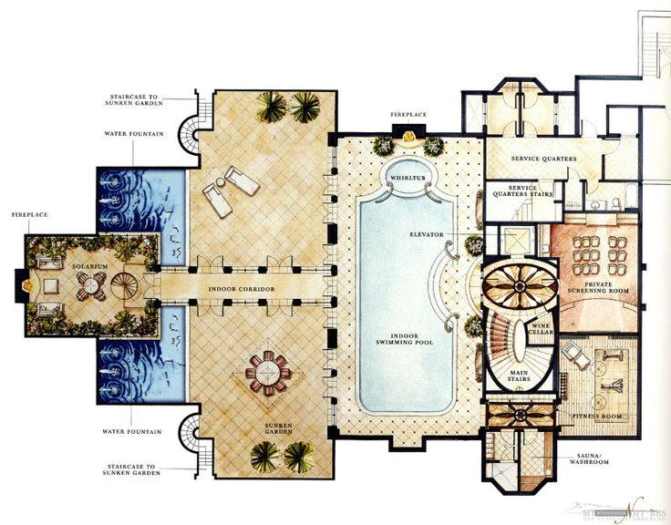 2820 best Blueprints images on Pinterest Architecture Floor plans