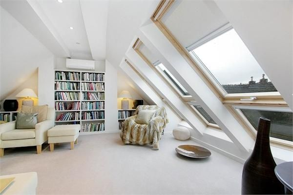 Love the built in bookcases.