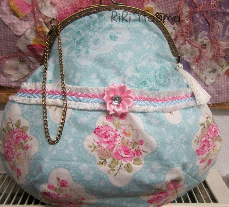 Tilda style purse - RiRi Yfasma (RiRiYfasma.gr)