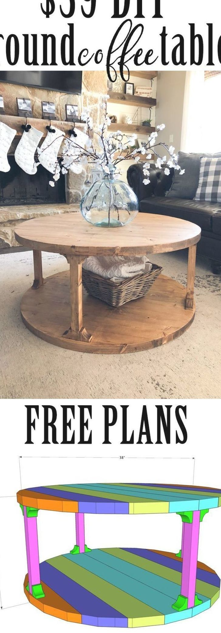Diy Round Coffee Table Coffee Table Ideas Of Coffee Table Coffeetable Build This Diy Round Coffee Tabl Diy Coffee Table Coffee Table Farmhouse Diy Table [ 2079 x 728 Pixel ]