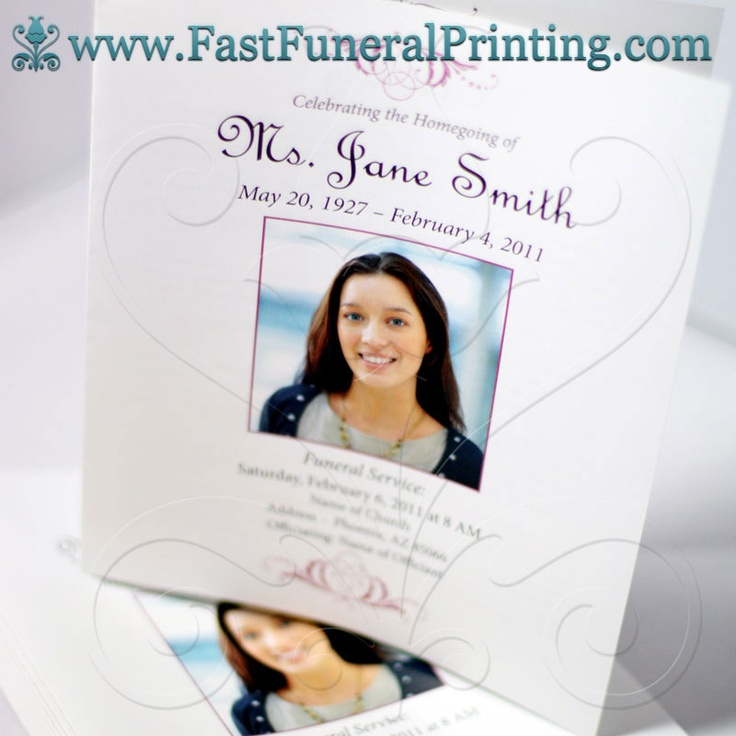 Best Obituary Template Images On   Coding Computer