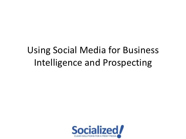 Social Media Monitoring Social CRM #SCRM by Shane Gibson, via Slideshare