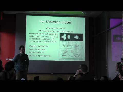 von Neumann probes, Dyson spheres, exploratory engineering and the Fermi paradox - YouTube