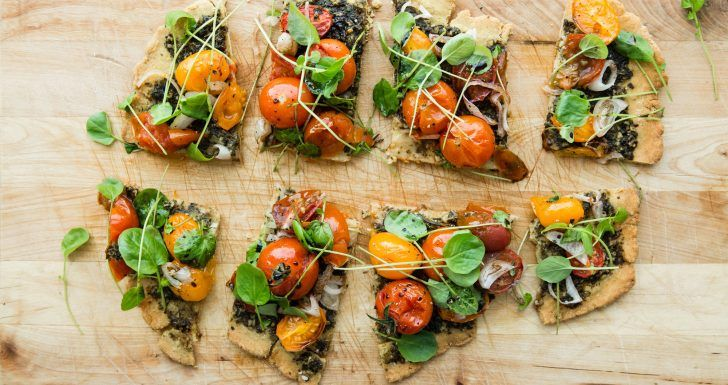 A HEALTHY FLATBREAD RECIPE FOR THE CARB-AVERSE