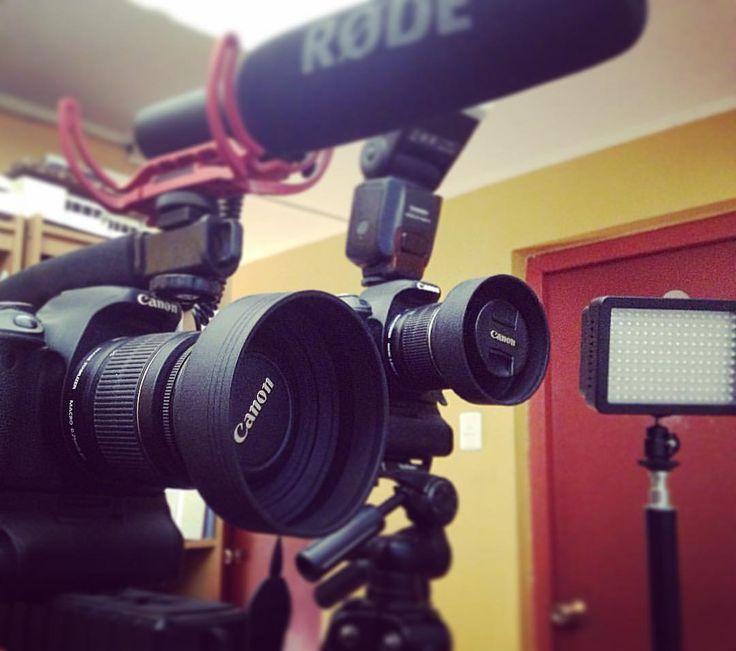 Esperando grabaciones de videos promocionales en @dilabstudios para GNS GLOBAL