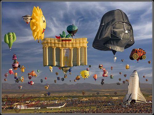 Albuquerque Balloon Festival | Flickr - MikeJones