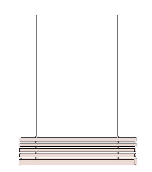 Sichtschutz selber bauen - Latten und Aluhülsen auffädeln