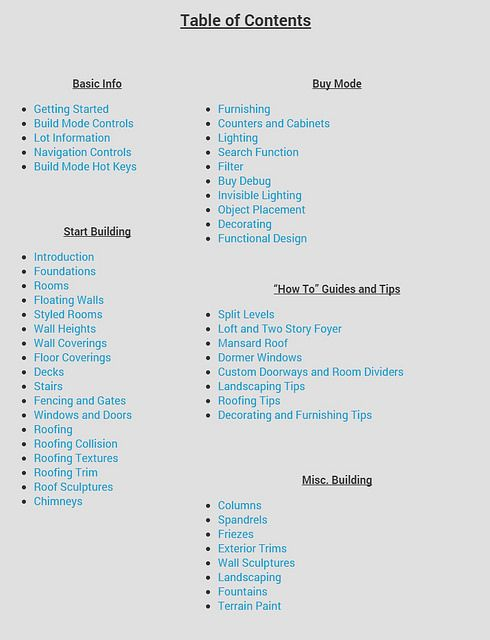 Sims 4 Building Guide by Ruthless_kk at Sims Vip via Sims 4 Updates