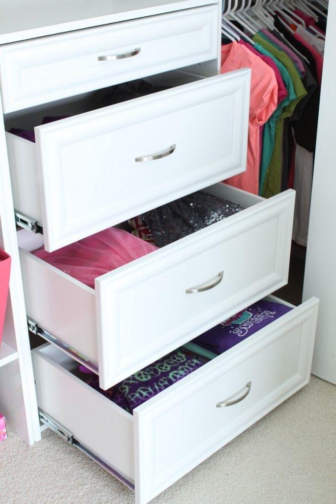 Closet Dresser Drawers