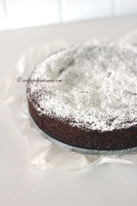 Arabafelice in cucina!: Torta morbida di cioccolato e noci