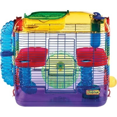 Crittertrail hamster cage review.