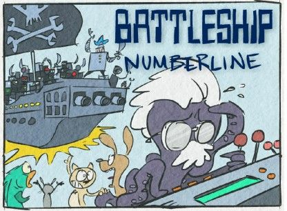 Battleship Numberline by Numbaland via brainpop: A fun game that can be used to teach and reinforce all kinds of number sense skills: whole numbers, fractions, decimals, and measurement! You can utilize Battleship Numberline for each number sense concept you teach so that students can play multiple times throughout the year as you cover various math skills. #Math #Numberline #Game