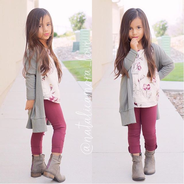 She starting kindergarten soon Outfit from @oldnavy  Boots from @stevemadden  #ootd #backtoschool