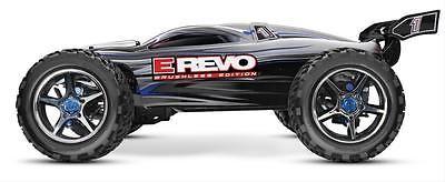 ﹩599.95. Traxxas E-Revo Brushless Monster Trucks with Traxxas Stability Management    Manufacturer Part Number - 56086-4SLVR,