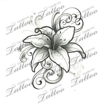 de 25 bedste id er om blomster tatoveringer p pinterest feminine tatoveringer. Black Bedroom Furniture Sets. Home Design Ideas
