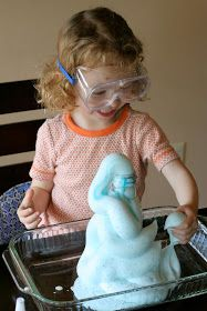 Fun at Home with Kids: Fun Science Experiment for Kids: Elephant Toothpaste!