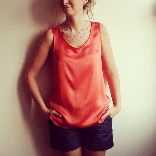 İpek bluzu giyince başka detay gerekmez. ;) Günaydın!/ Once you wear a silk shirt, there is nothing more youll need. Good morning! #gunaydin #pazartesi #ipek #bluz #designroom #picoftheday #gununkombini #silk #stil #style #monday #new #newseason #colorful #igers #igbest #instamood #me #burcuwears #renkrenk #burcusdesignroomlookoftheday