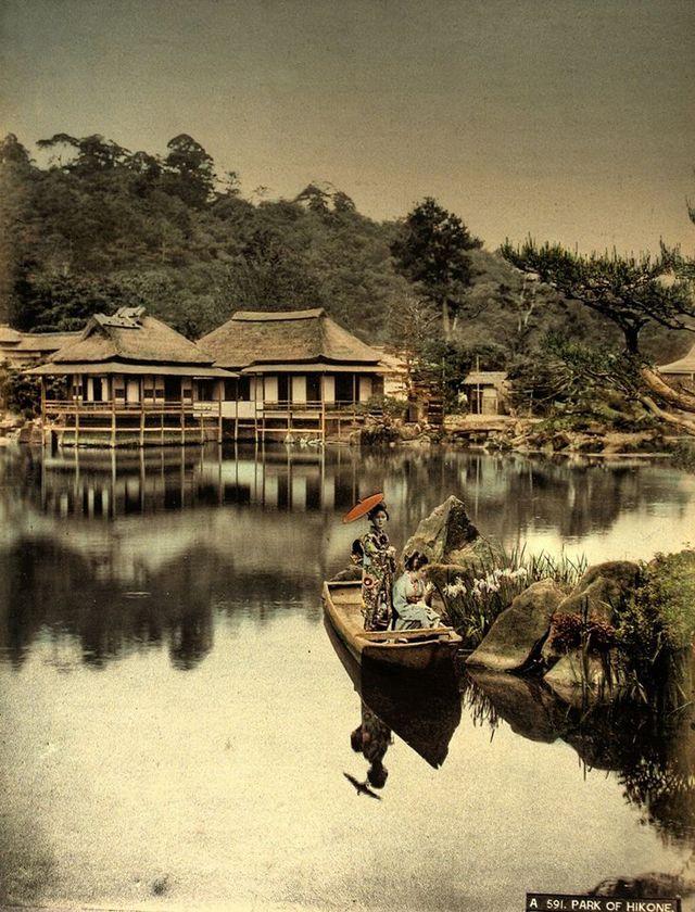 彦根・菖蒲園 -- 【タイムスリップ】幕末から明治へ「1800年代末の日本」の臨場感あふれる写真たち
