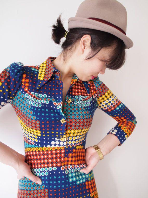 Retro dress from Japan