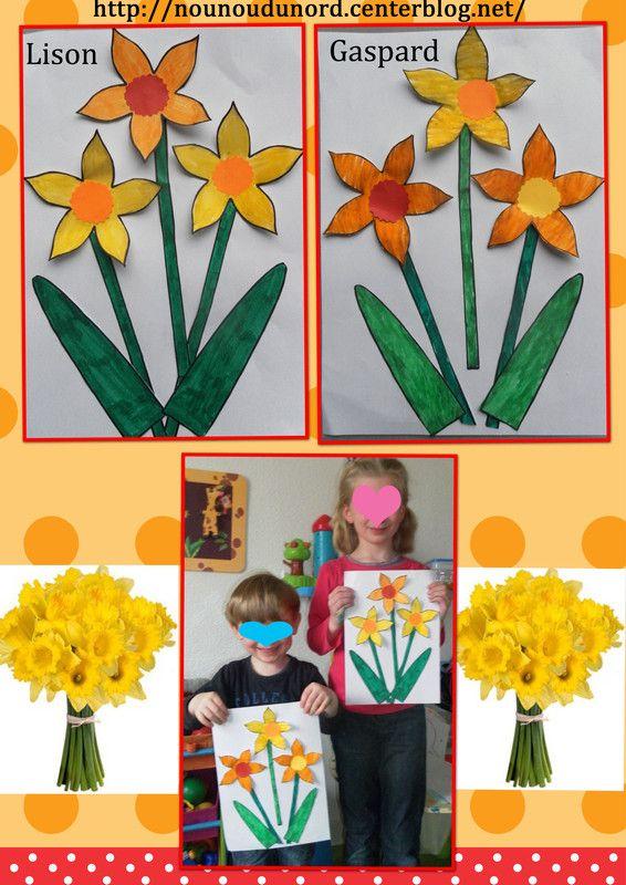 Extrem 52 best Printemps fleurs activités manuelles images on Pinterest  FD68