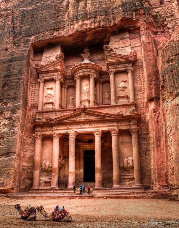 Petra, Jordan... I need to go here