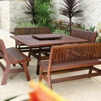 Jensen Leisure Exotic Ipe Wood Furniture
